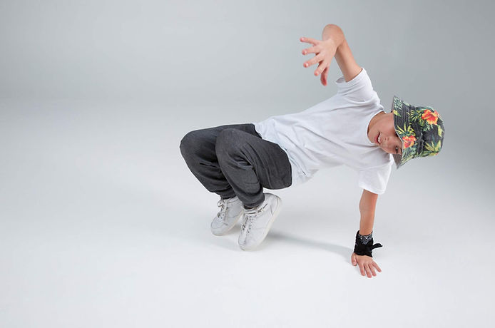Boys hip hop dance class in East Auckland dance studio