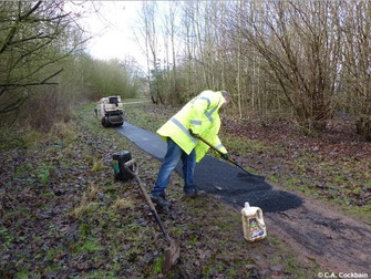 Tesco Funding Award See's Pathway Resurfaced At Pickerings Pasture
