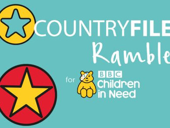 Mal Suttons Hale Village - Countryfile Ramble For BBC Children In Need