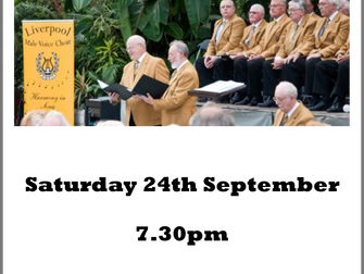 Liverpool Male Voice Choir Concert At St Mary's Church