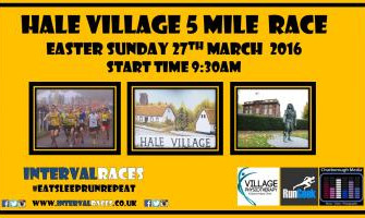 Hale 5 Mile Road Race - Easter Sunday 27th March
