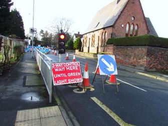 Town Lane Roadworks Still Ongoing
