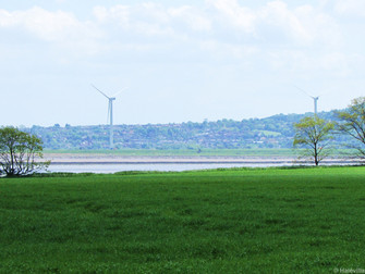 Frodsham Wind Farm Now Visible From Hale Village