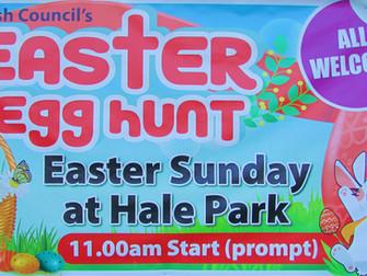 Hale Parish Council's Easter Egg Hunt