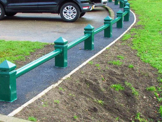 New Bollards For Hale Park
