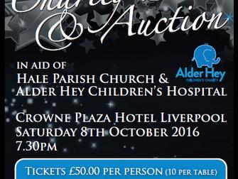 St Mary's Church Sparkle Ball & Charity Auction 2016