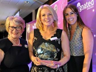 Hale Village's - Merseywave's Kathryn Wins In Merseysides Women Of The Year 2016