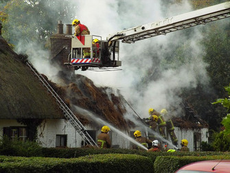Cottage Fire Church Road