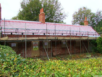 Thatch Cottage Renovation On Church End Is Progressing Well