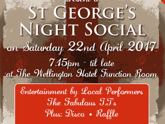 The Freemen of Hale - St George's Night at The Wellington Hotel