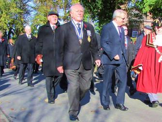 Bill Sergeant (M.B.E)  Of Hale British Legion Honoured In Queen's New Years Honours List