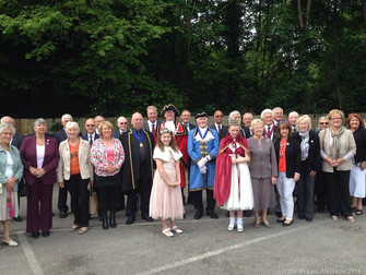 The Annual Hale Village Freemen - & Guildswomens Parade/Church Service