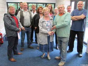 The New Hale Village Hall Is Handed Over.