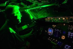 Police Warn Of Laser Pen Danger To Aircraft