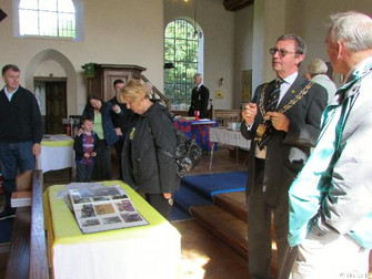 St Mary's Church Heritage Open Day Keeps Visitors In The Picture On Village History