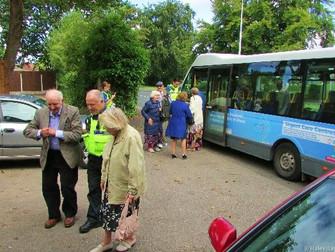 Special Hale Trip Treat For Elderly Halton Residents.