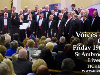 Merseywave Choir Voices Of The Valley In Concert