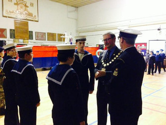 Lord Mayor Attends Sea Cadets Awards