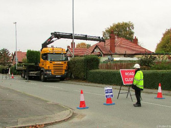 Electricity Transformer Upgrade On Town Lane