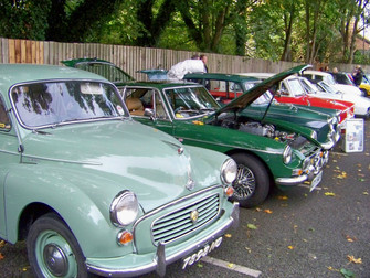 Charity Classic Car Show Event At The Childe Of Hale Public House.