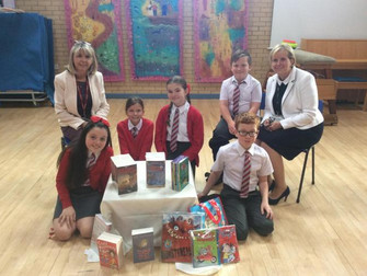 Pupils Receive Gift Of New Books For School Reading Area