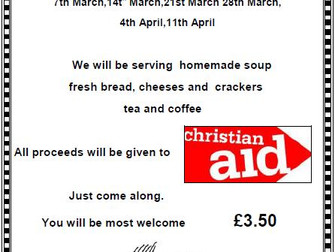 2017 Lent Lunches At St Mary's Church