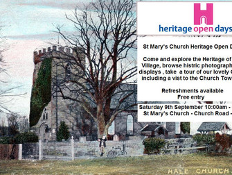 Heritage Open Day To Showcase The History Of Hale Village