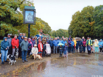 Hale Village Ramblers Help Raise Funds For Children In Need