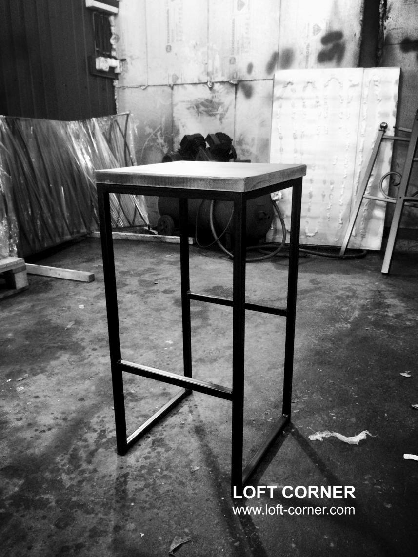 Барный табурет лофт, стул барный купить можно в LOFT CORNER, собственное производство мебели лофт дл