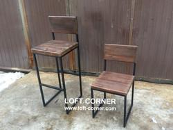 Ресторанный стул лофт, барный стул лофт, барные столы лофт, ресторанный стол лофт, производство мебе