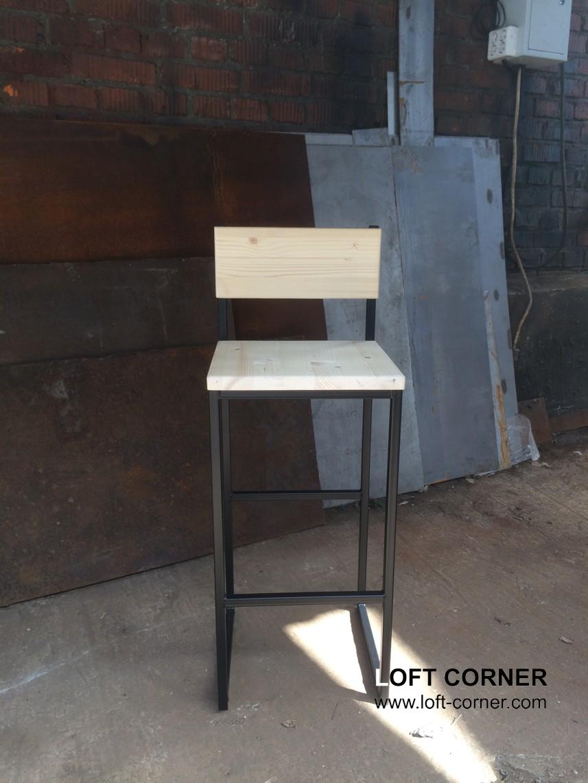 Барный стул лофт, мебель лофт для ресторана, барная мебель лофт, мебель для кафе в стиле лофт, лофт