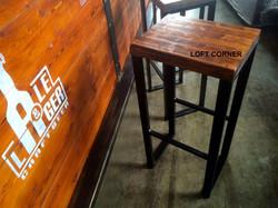 Барный стул в стиле индастриал для лофта бара ресторана кафе #1