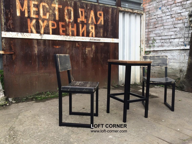 Удобные стулья с выемкой для ресторана, бара, кафе, мебель в стиле лофт купить в Москве в компании L