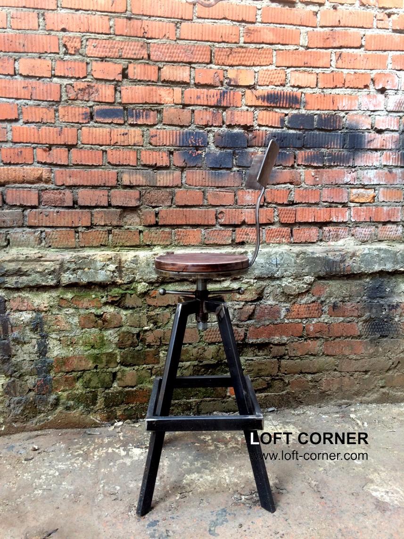 Дизайнерские стулья для кухни, барный стул, мебель в стиле лофт, стул кафе