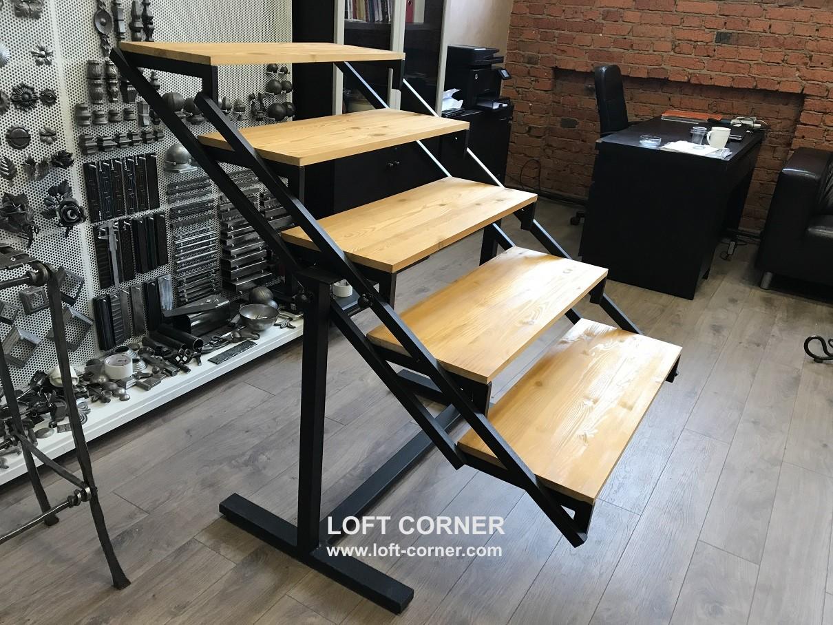 стол-стеллаж трансформер, стол лофт, стеллаж лофт, стол трансформер, стеллаж трансформер