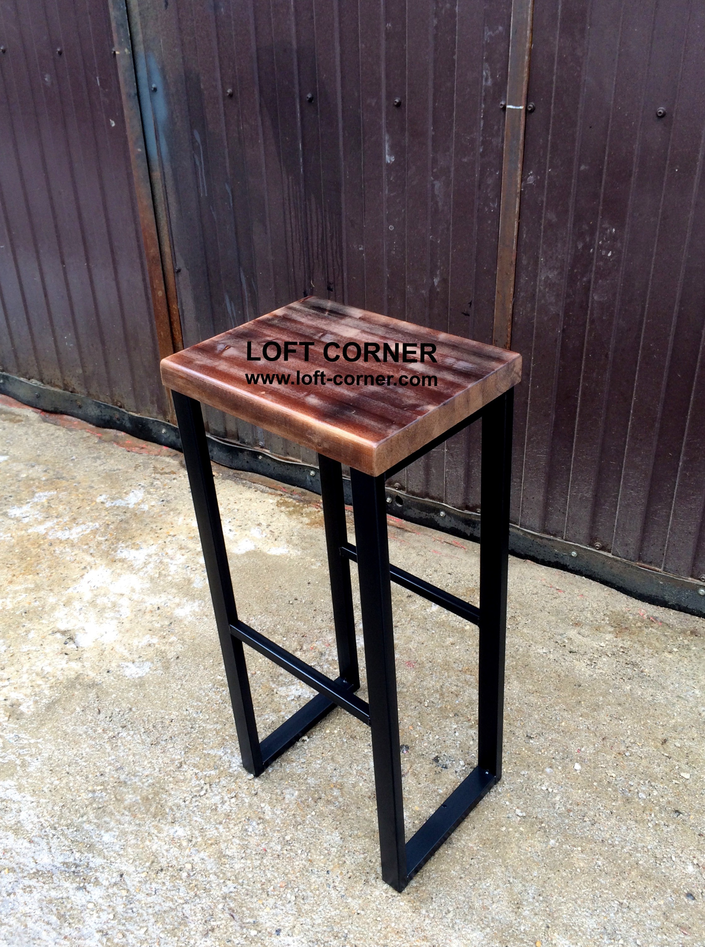 Производство барной и ресторанной мебели в стиле лофт, барный стул индастриал, барный табурет лофт,