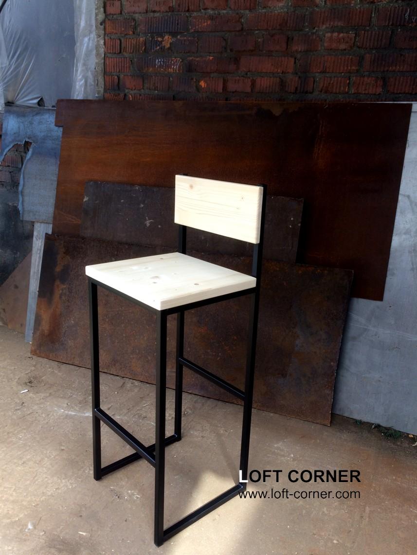 Мебель лофт от производителя, барный стул, стул кафе в стиле лофт, мебель ресторан, барная мебель на