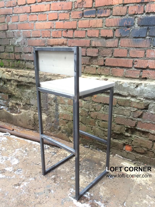 Стул барн лофт, стул для кафе и ресторана, мебель для ресторанов, мебель кафе, барная мебель лофт ку
