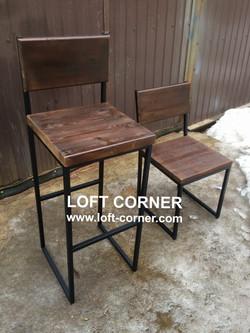 Барная и ресторанная мебель лофт, барный стул лофт, ресторанный стул лофт, мебель индастриал, барный