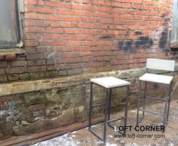 Барная мебель лофт, барный стул, барный табурет лофт, мебель лофт производство в Москве, мебель для