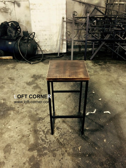 Барный стул лофт для ресторана, кафе, бара, купить барный стул в Москве, мебель лофт, барная мебель