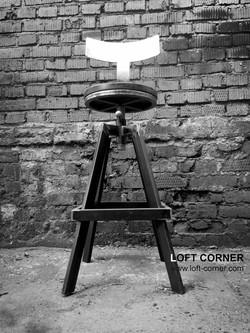 Дизайнерская мебель на заказ, барный стул лофт, дизайнерский барный стул, купить необычный стул