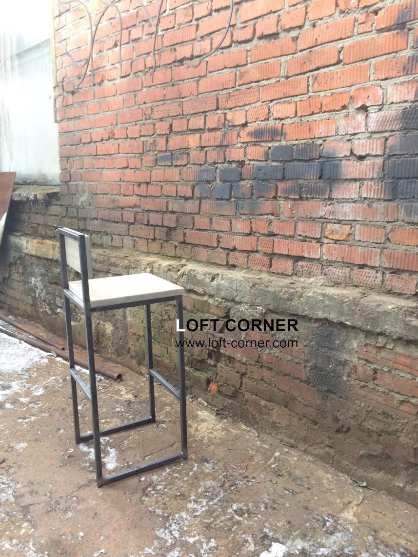Барный стул лофт, стул кафе, барная мебель лофт, loft стиль, лофт интерьеры от LOFT CORNER