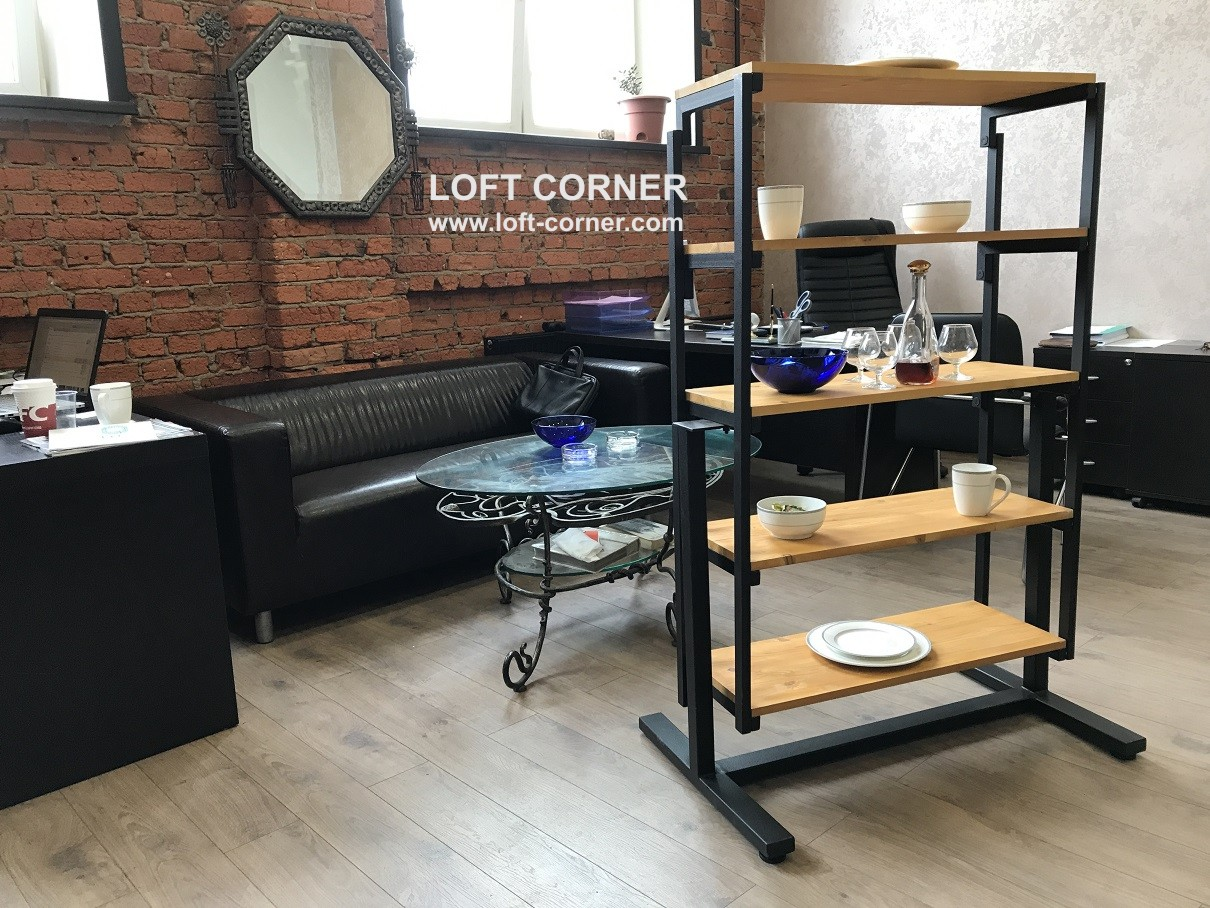 Стеллаж, который трансформируется в обеденный стол, стеллаж-трансформер, стол-трансформер, стол-стел