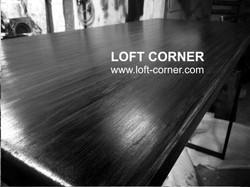 Высокий барный стол лофт, мебель для бара лофт, мебель для ресторана лофт, мебель лофт, производство
