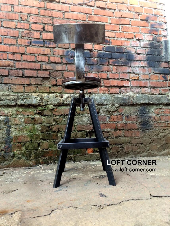 Дизайнерский стул, барный стул, высокий стул, мебель лофт Москва, ресторанный стул, барная мебель ло