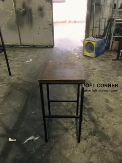 Барный стул в лофт стиле, мебель лофт производтсво в Москве, барная мебель, мебель для ресторанов, м