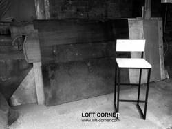 Барные стулья лофт, стул для кафе, стул барный купить, мебель лофт, мебель для ресторана на заказ, б