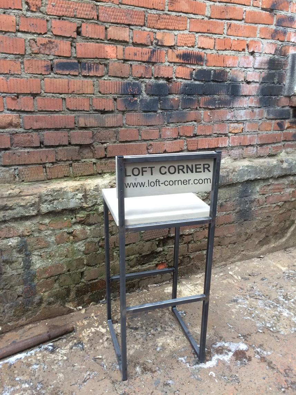Барный стул индастриал, стул в стиле лофт, мебель для ресторана, барная мебель лофт, мебель кафе лоф