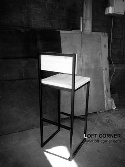 Барный стул лофт, мебель лофт производство в Москве, барная мебель лофт, мебель для ресторана, мебел